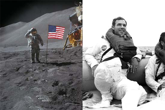 Apollo 15 commander David Scott