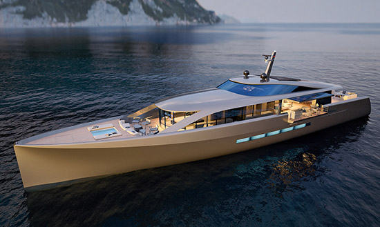 CNB 43.2 Superyacht by German Frers Is Absolutely Ravishing