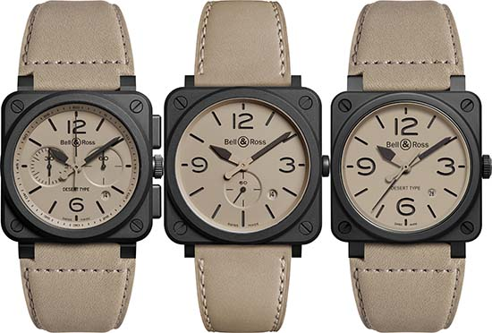 Bell & Ross Desert Type Collection