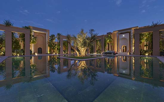 Mandarin-Oriental-Marrakech-entrance