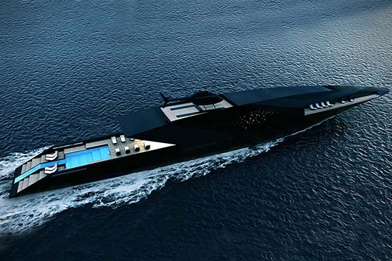 Black Swan Superyacht Concept By Timur Bozca Is Spectacular