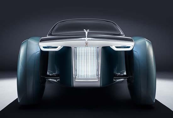 Rolls Royce Reveals Futuristic 103EX Concept