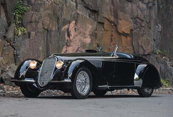 1939 Alfa Romeo 8C 2900B Lungo Touring Spider front