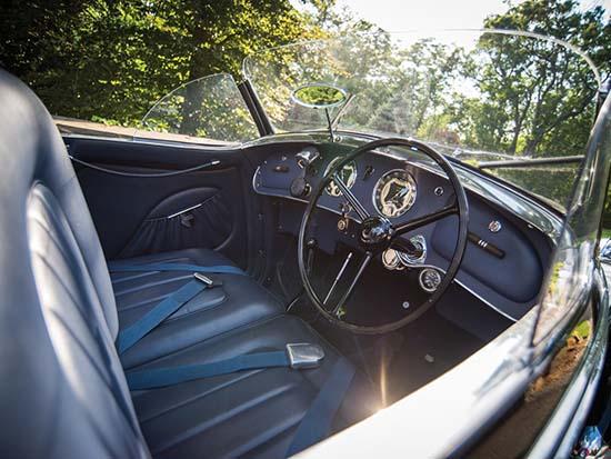 1939 Alfa Romeo 8C 2900B Lungo Touring Spider interior