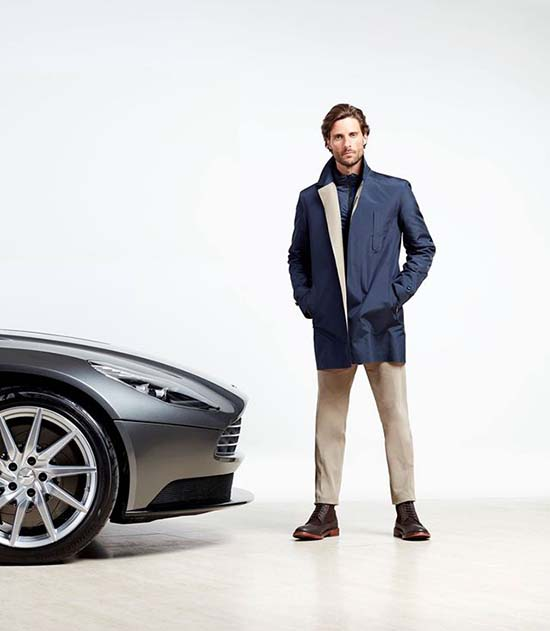 Aston Martin x Hackett Capsule Collection