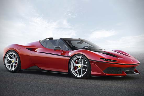 Ferrari J50 is a Real Stunner