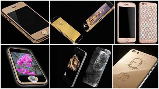Extravagant iPhones