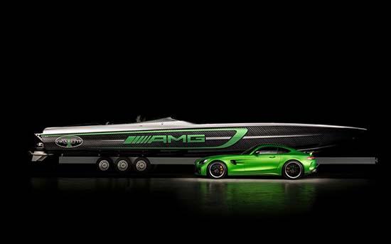 Mercedes-AMG x Cigarette Racing 50′ Marauder GT R