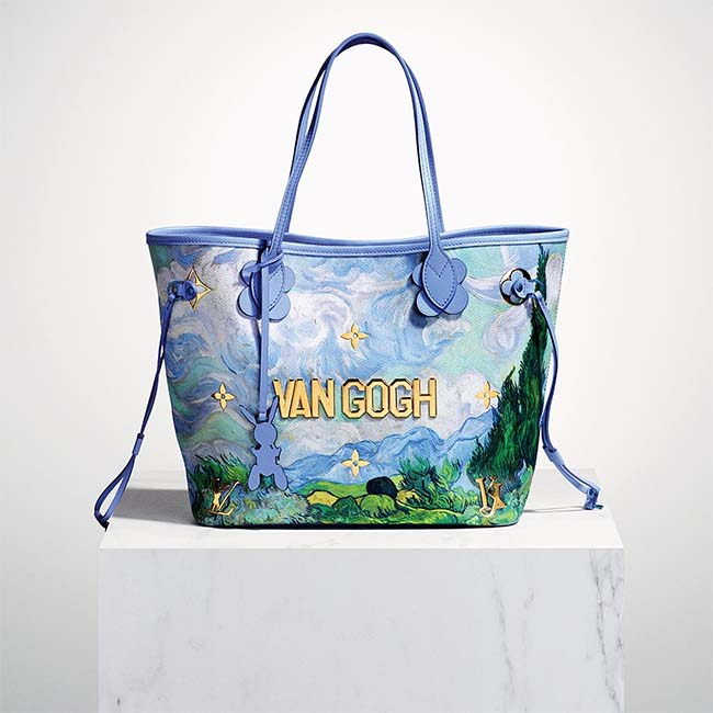 The Louis Vuitton x Jeff Koons Masters Collection Is Here • Luxuryes b65cc0608a778