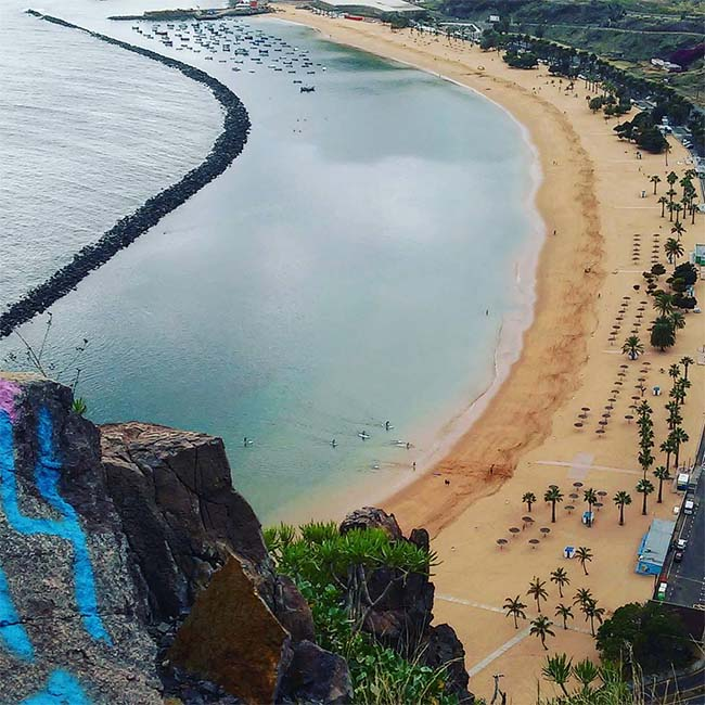 best beaches tenerife
