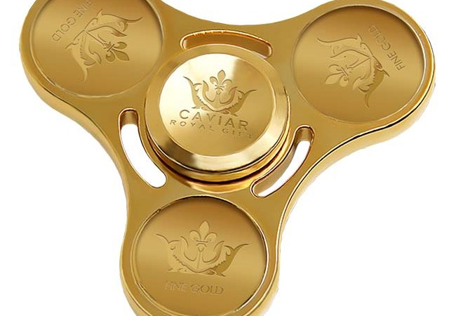 The World's Most Expensive Fidget Spinner Will Set You Back $17,000