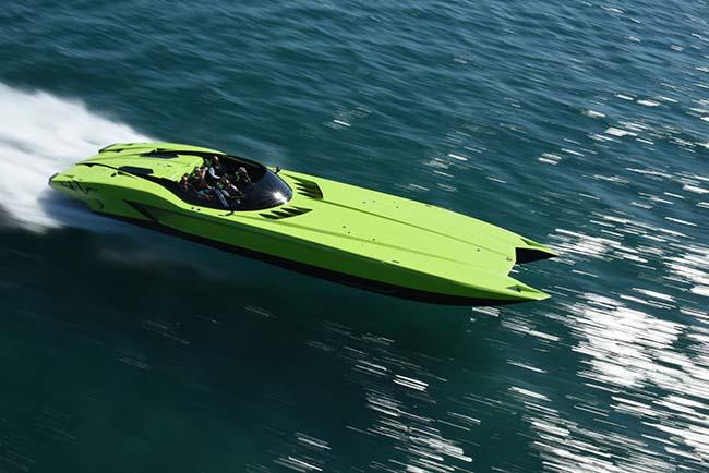 Lamborghini Super Veloce Speedboat