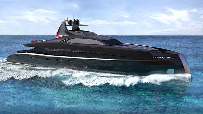 Gotham Project Superyacht