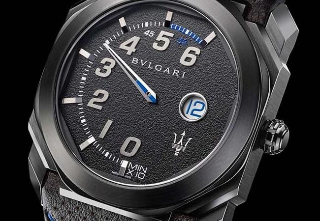 Bulgari Launches New Octo Retro Maserati Watches