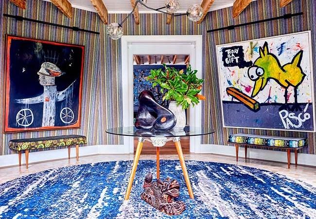 A Look Inside Robert Downey Jr's Windmill Home