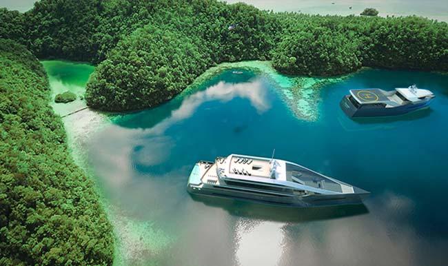 Rolls-Royce Crystal Blue yacht concept