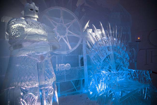 An Insane Game of Thrones Ice Hotel Just Opened in Finland