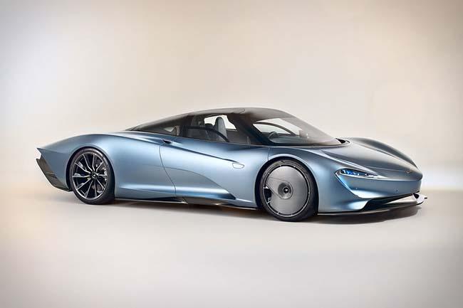 Meet the 1,035-HP McLaren Speedtail Hypercar