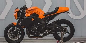 Yamaha MT-10 McLaren Orange