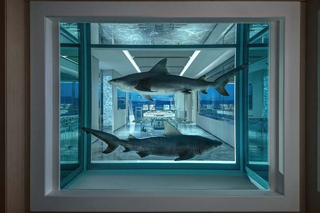 Empathy Suite Designed by Damien Hirst