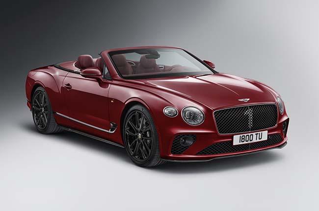Bentley Continental GT Convertible Number 1