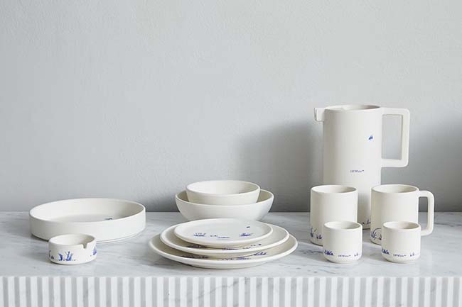 "Off-White™ ""HOME"" Collection CERAMICS"