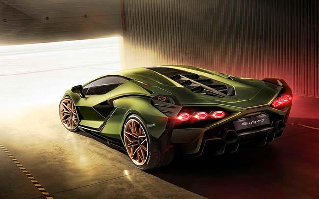 Lamborghini Sián 808bhp