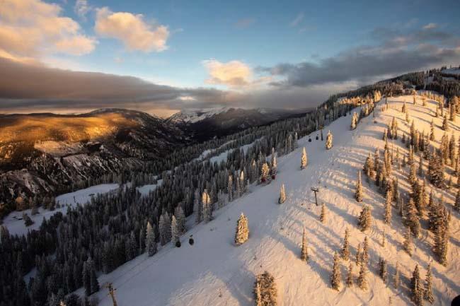 destinations de vacances de ski