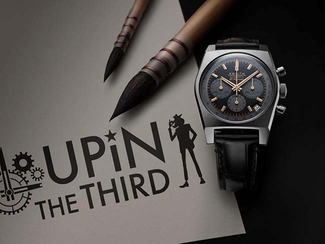 Zenith A384 Lupin The Third Edition