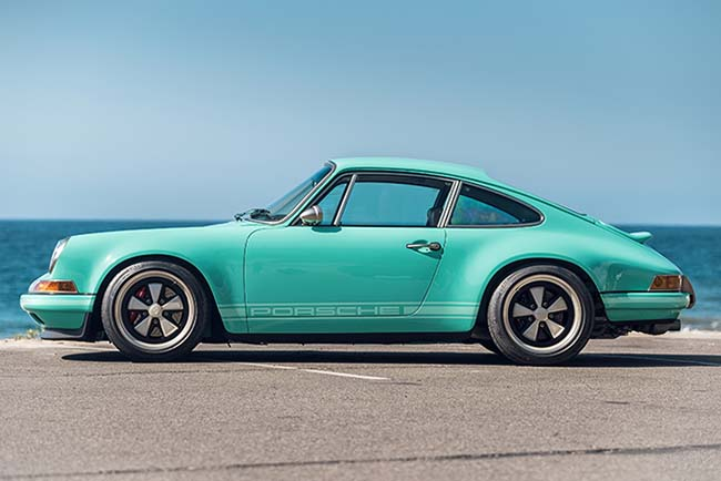 1991 Porsche 911 Malibu Reimagined by Singer