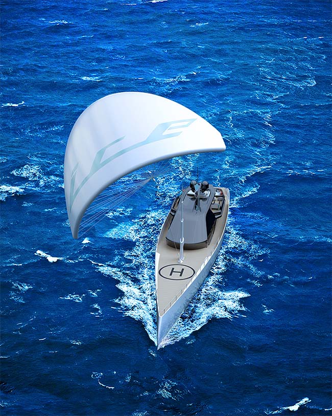 Ice Kite Superyacht by Red Yacht Design