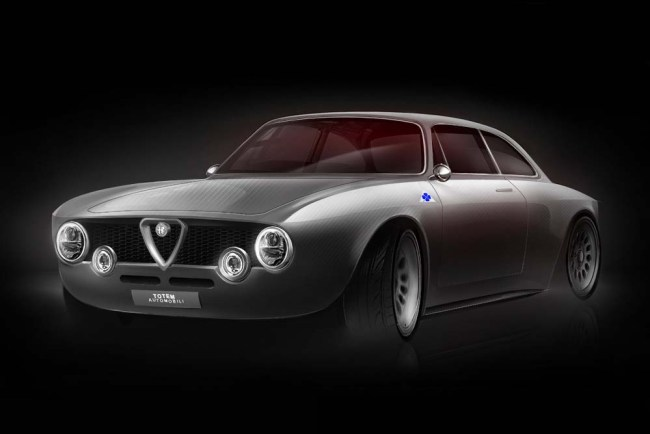 Alfa Romeo Giulia GT Electric Coupe by Totem Automobili