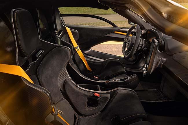 McLaren Senna Novitec interior