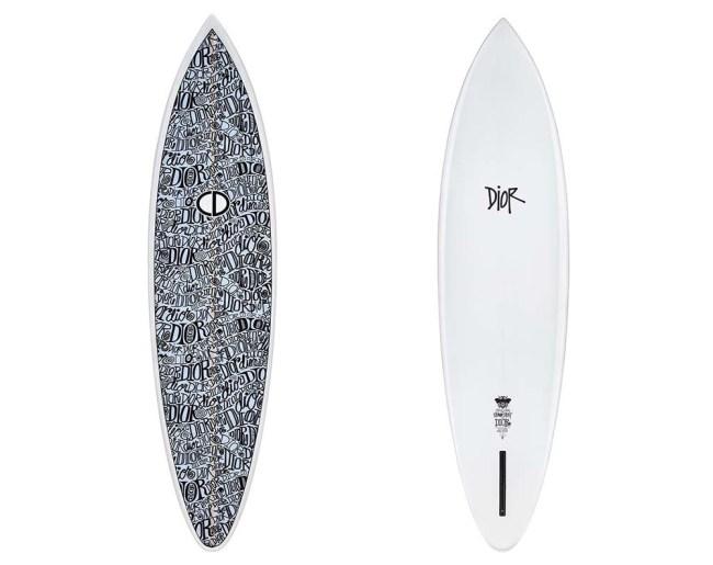 Shawn Stussy x Dior Surfboard