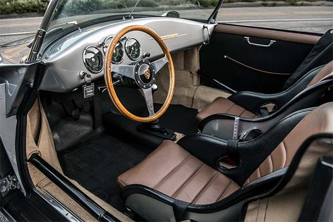 1962 Emory Special Roadster interior