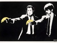 Banksy Pulp Fiction Print