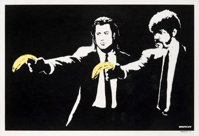 Banksy Pulp Fiction Print