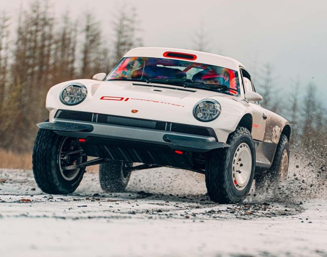 Singer Vehicle Design All-Terrain Competition
