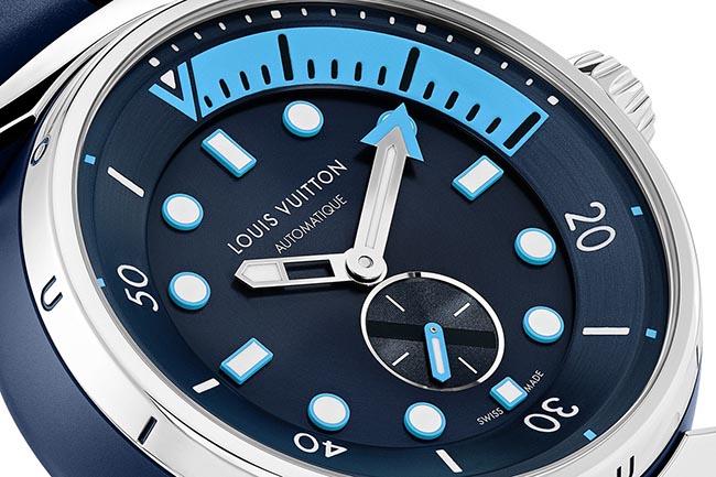 Louis Vuitton Tambour Street Diver - dial