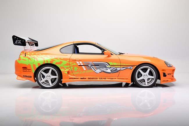Paul Walker's Fast & Furious Toyota Supra