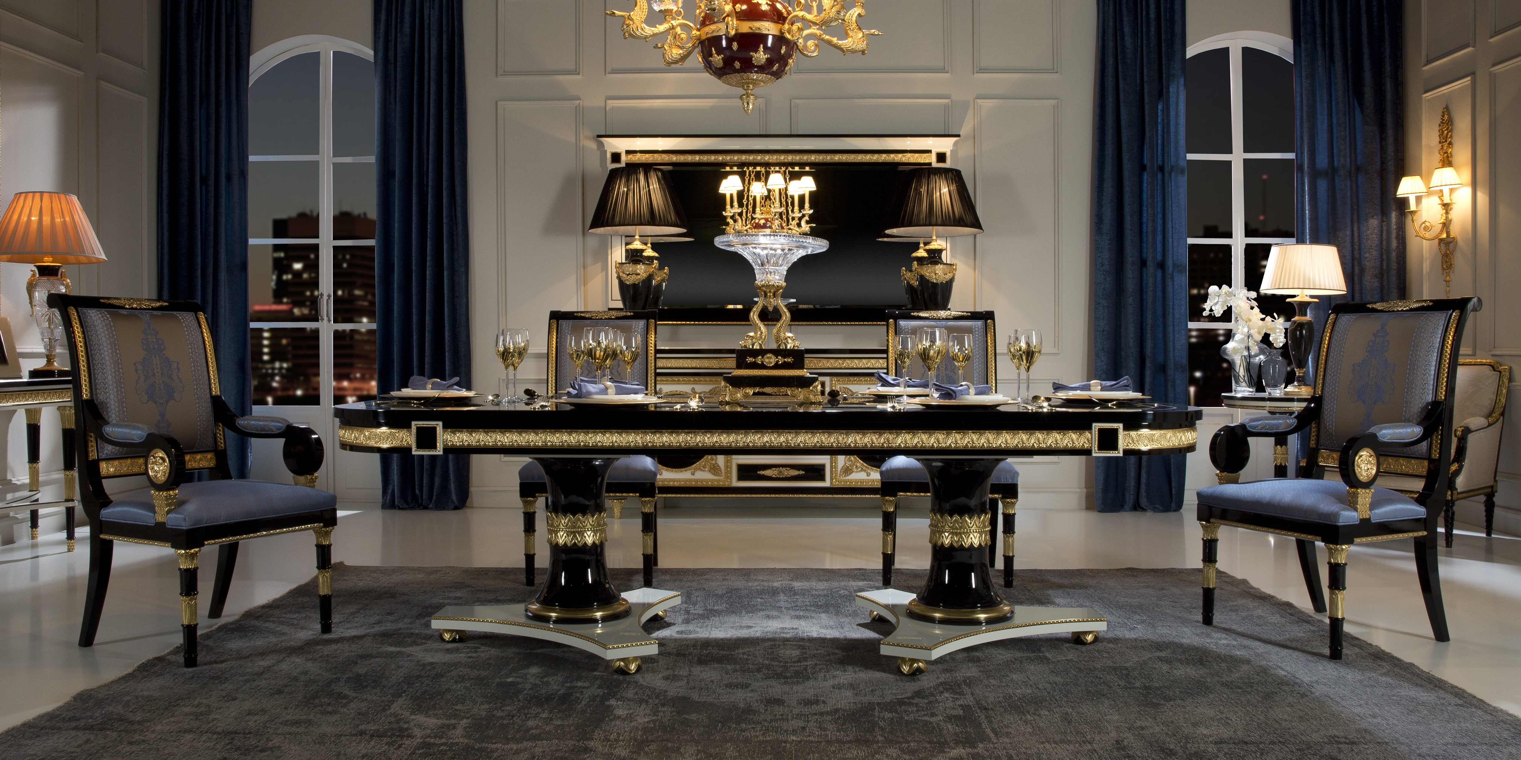 Luxury Furniture And Lighting Presents Neoclassical Style
