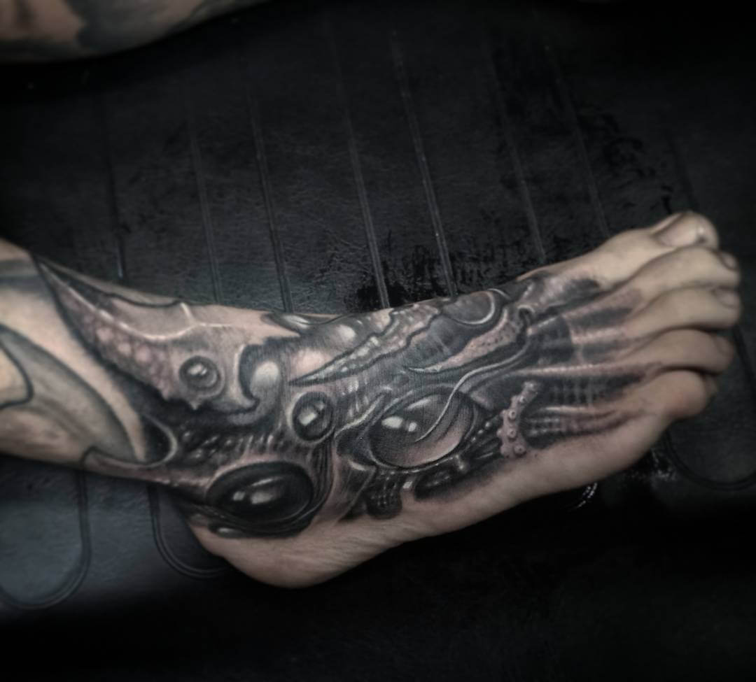 Luxury Ink Bali Tattoo Gallery Biomechanical Style101