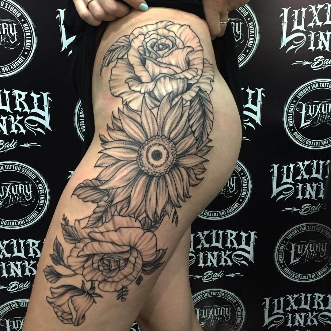 Luxury Ink Bali Tattoo Gallery Blackwork style101