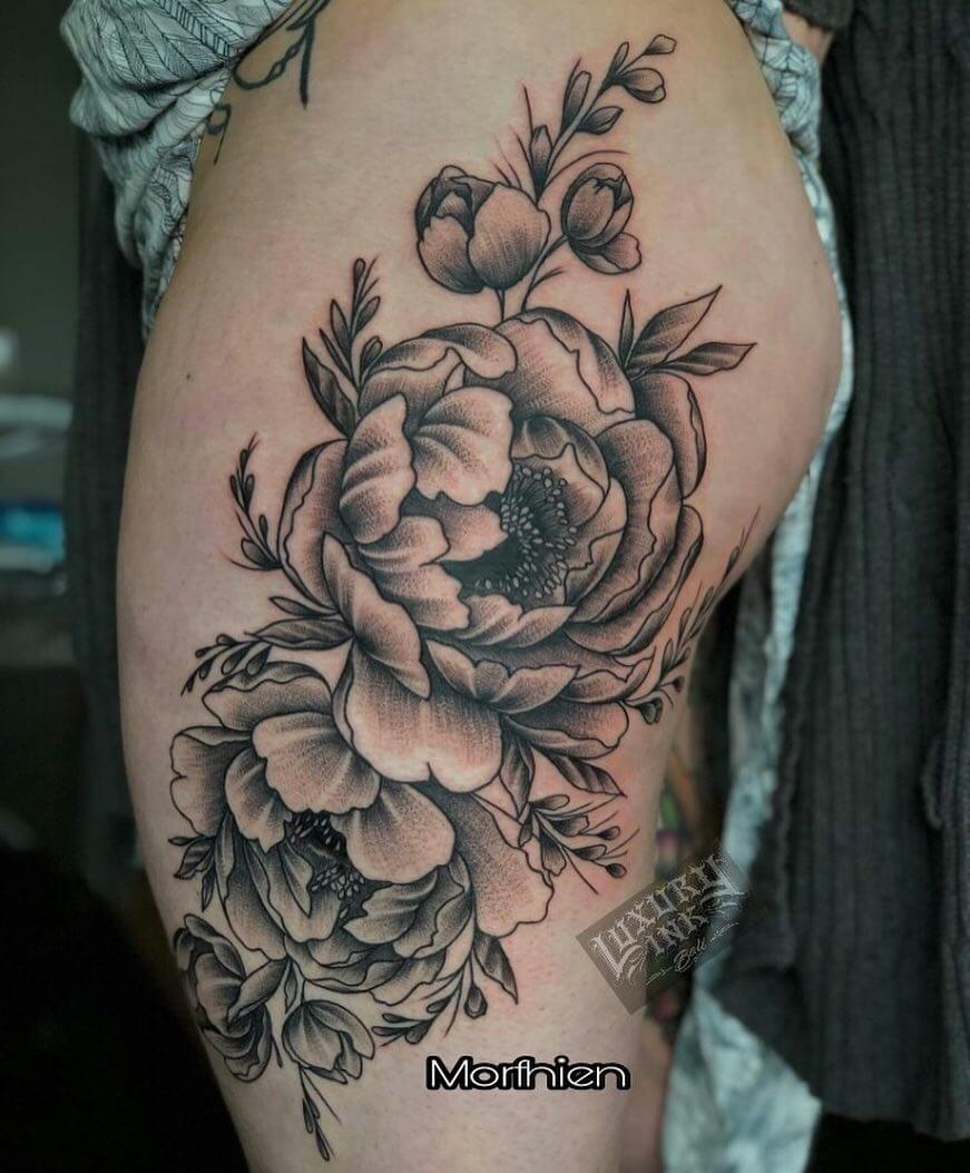 Luxury Ink Bali Tattoo Gallery Blackwork style104