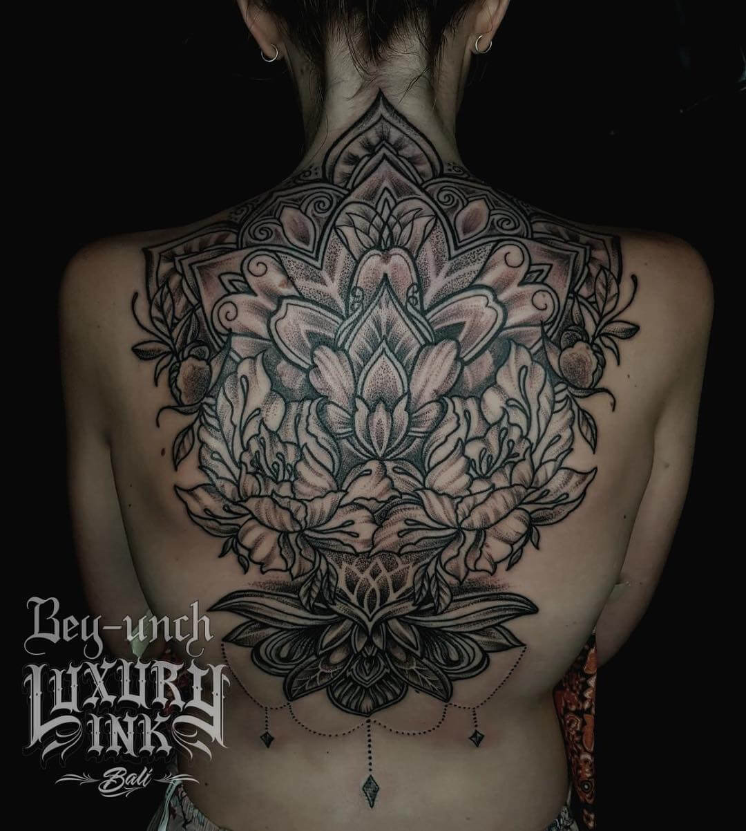 Luxury Ink Bali Tattoo Gallery Blackwork style112