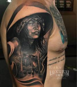 Luxury Ink Bali Tattoo Gallery Figure Style107