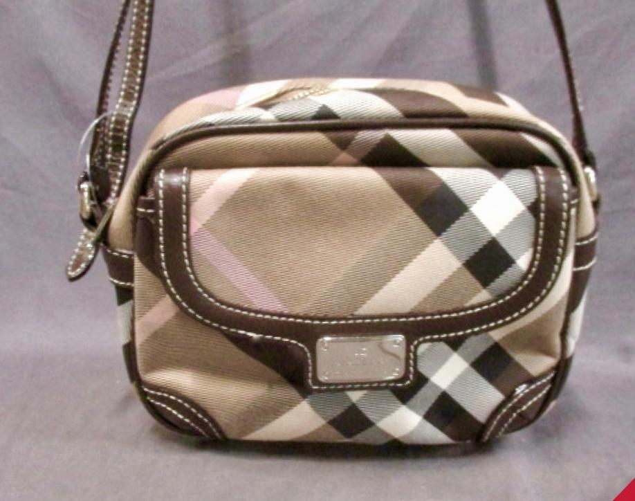 7e5951f459a Burberry Blue Label Nova Check Crossbody Bag - Luxurylana Boutique