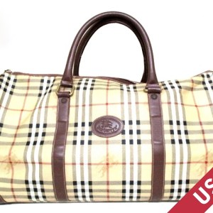 BurberryBurberry Haymarket Check Duffel Bag