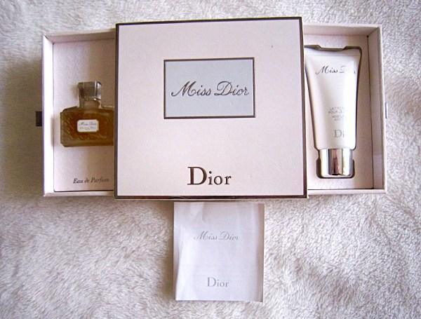 Christian Dior Perfume Set