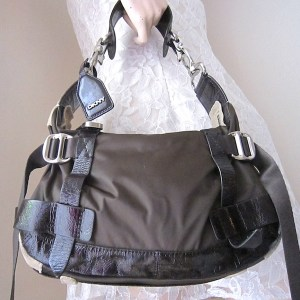 DKNY Brown Hobo Bag